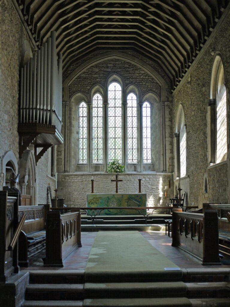 bosham church interior